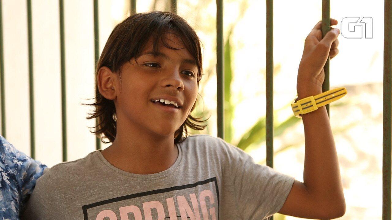 Crianças tentam curar traumas da violência no Rio de Janeiro