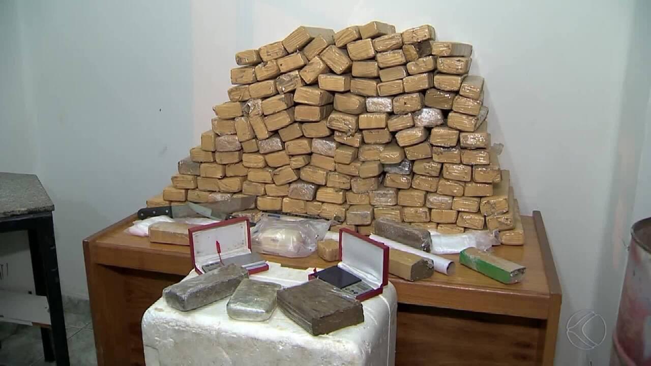 Polícia Civil apreende cerca de 120 quilos de maconha em Juiz de Fora