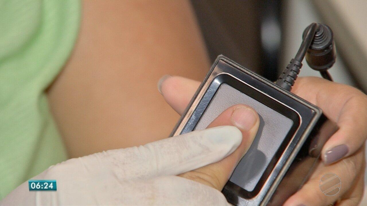 30% dos eleitores fizeram cadastramento biométrico em MT