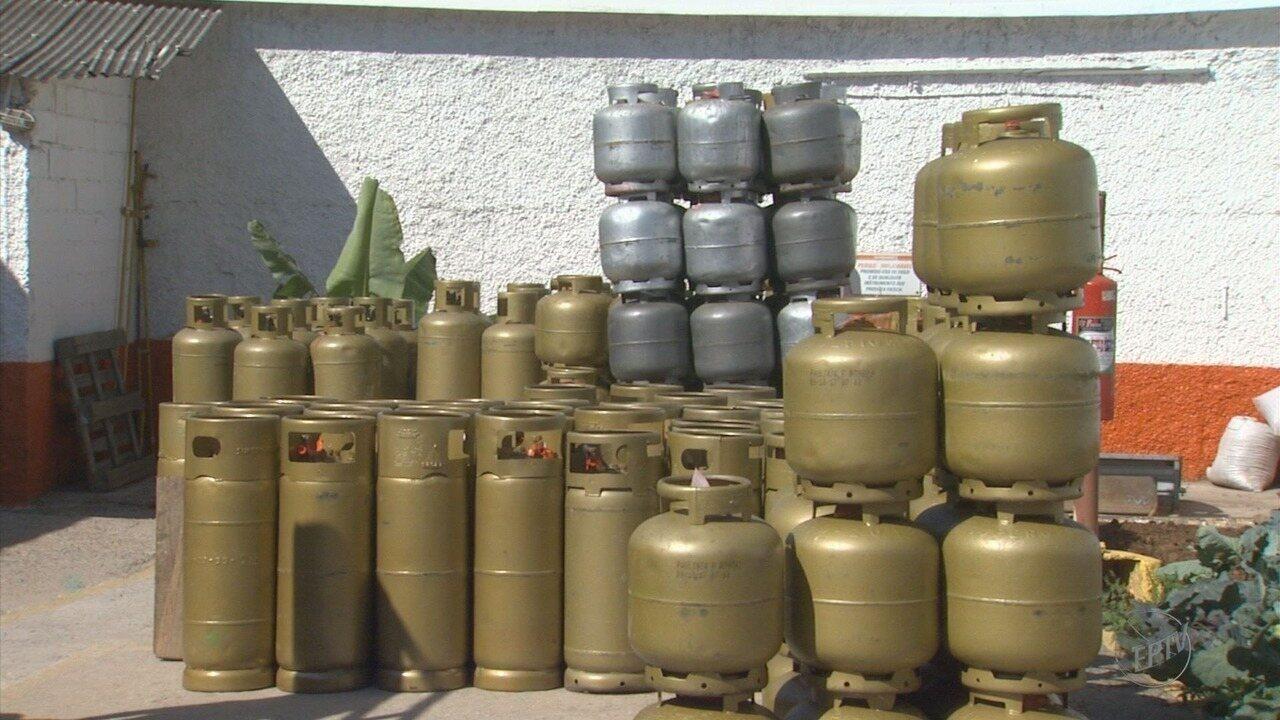 Aumento do gás de cozinha preocupa comerciantes e consumidores