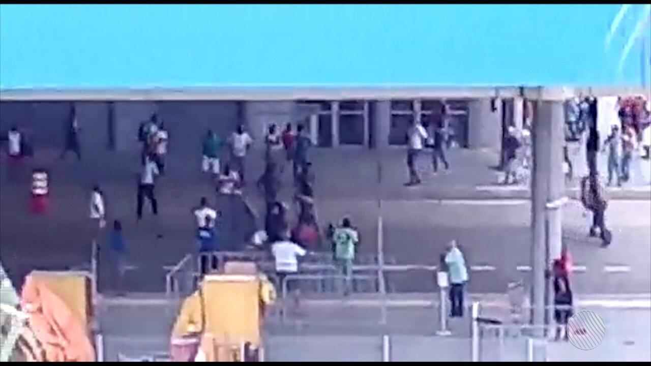 Solto há duas semanas, homem mata cunhada na Estação Mussurunga