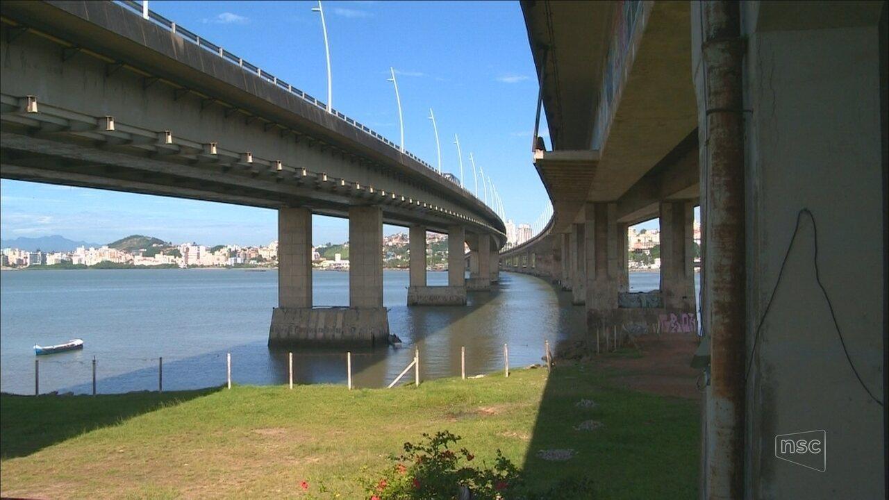 Tribunal de Contas suspende edital para manutenção das pontes Colombo Salles e Pedro Ivo