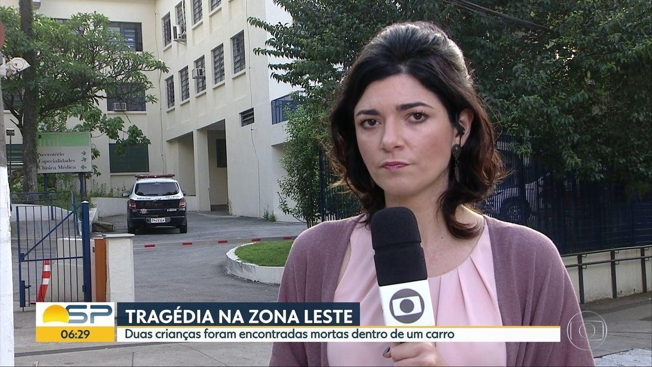 Crianças são achadas mortas em carro dentro de favela na Zona Leste de SP, diz PM