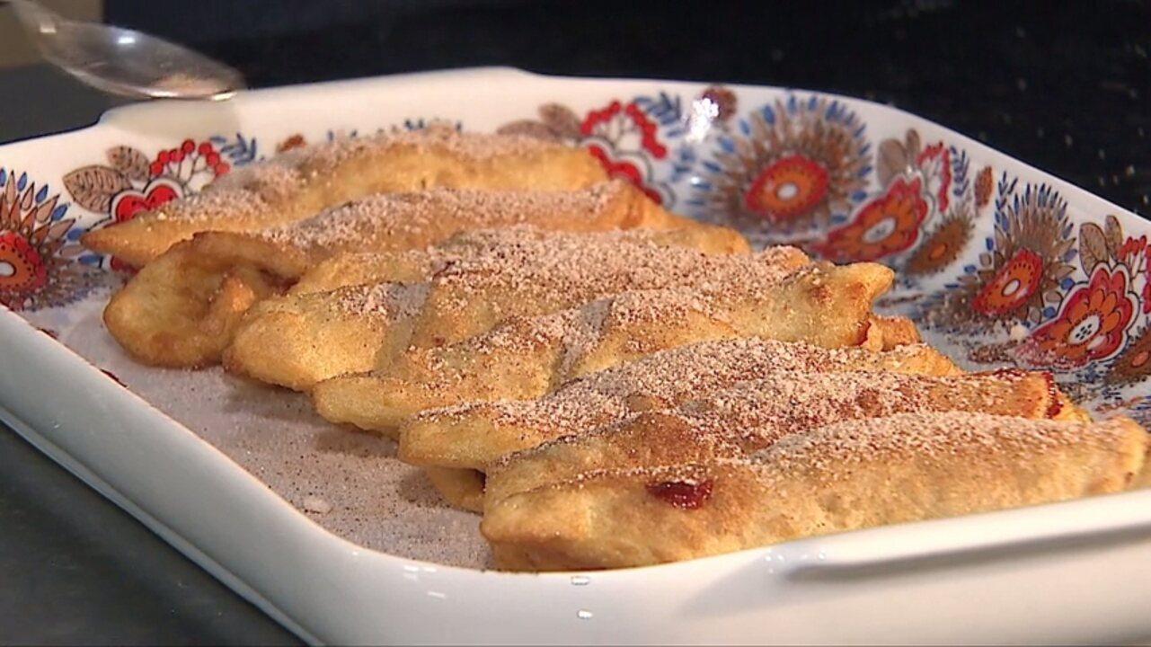 Aprenda a fazer enroladinho de batata doce com goiabada da 'Vó Maria'