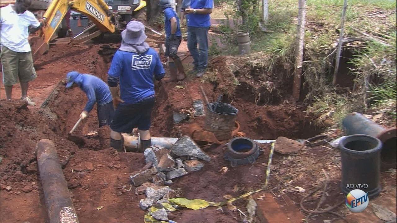 Moradores de sete bairros ficam sem água na zona oeste de Ribeirão Preto
