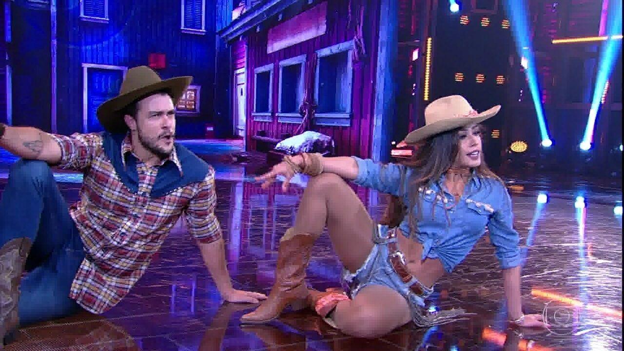 Joaquim Lopes é o primeiro a dançar country