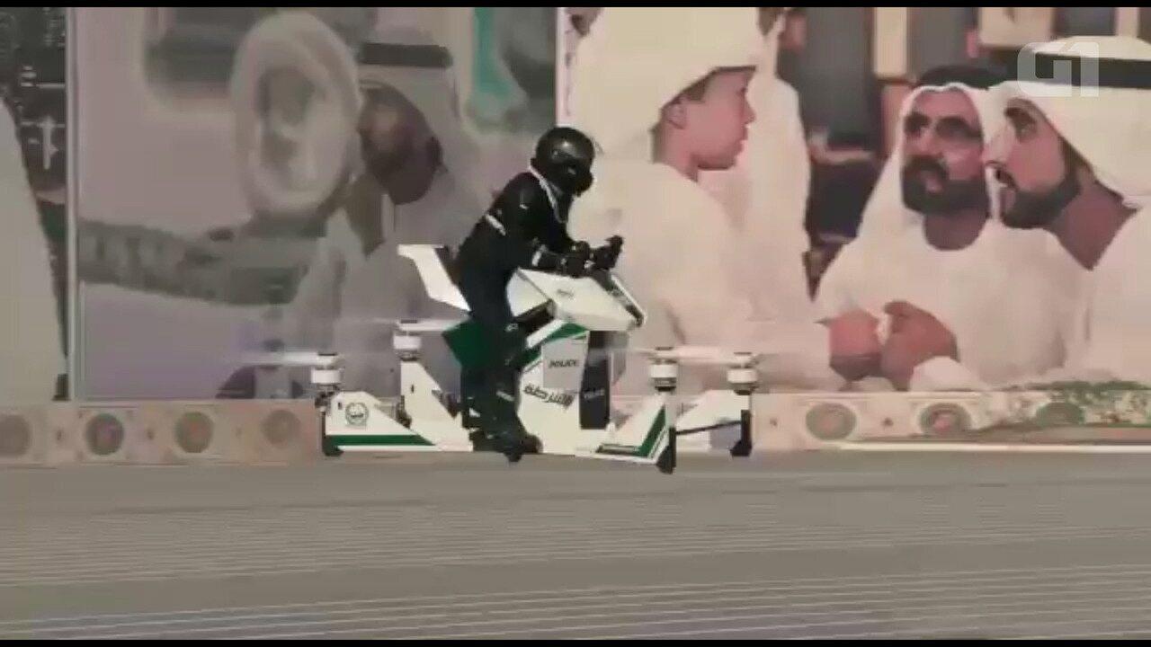 Polícia de Dubai terá