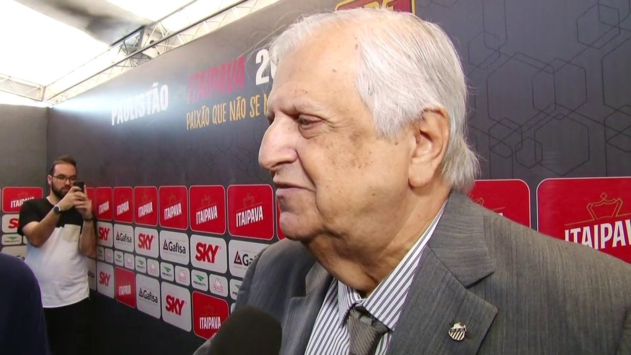 Modesto Roma fala sobre o grupo do Santos no Campeonato Paulista