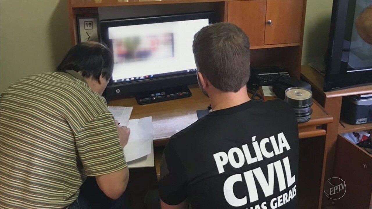 Dentista é preso durante operação nacional contra a pedofilia em Boa Esperança (MG)