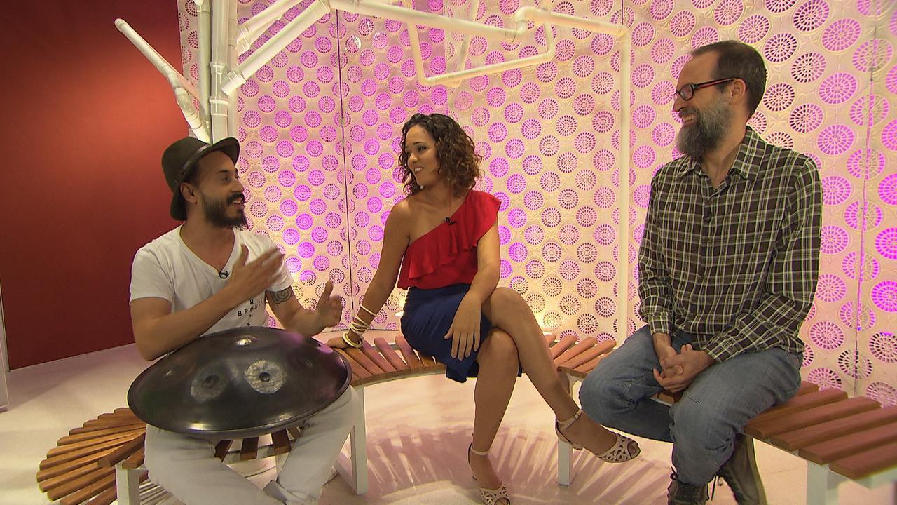 O 'Hiperlink' fala sobre percussão com o produtor Alexandre Lins e o músico Thiago Trad