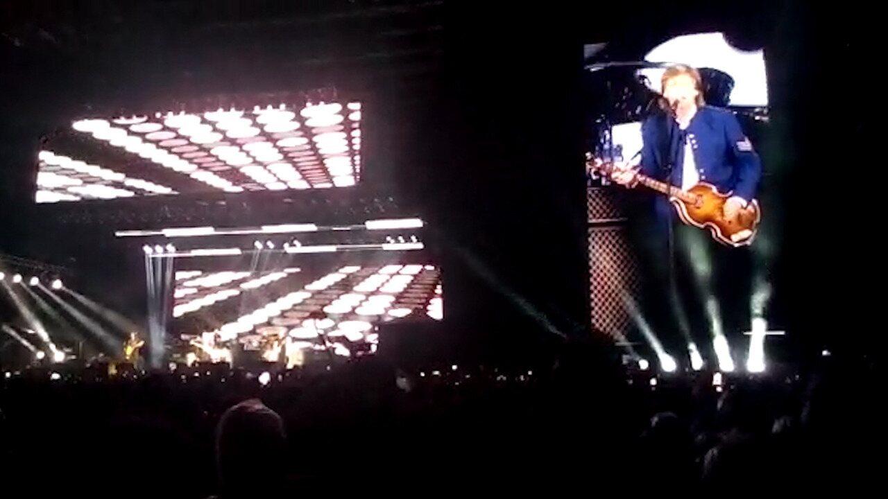 Veja trecho do show de Paul McCartney em Salvador