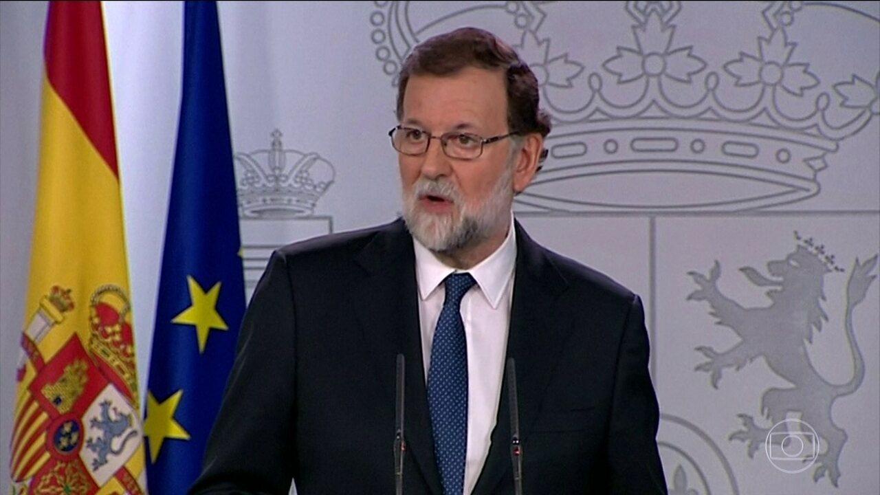 Governo espanhol decide destituir o governo da Catalunha e convocar novas eleições