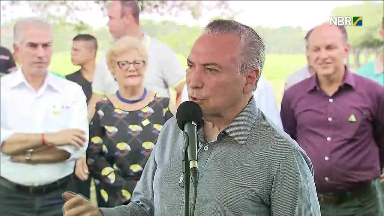 Michel Temer elogia Rodrigo Maia e diz que 'relação está tranquila'