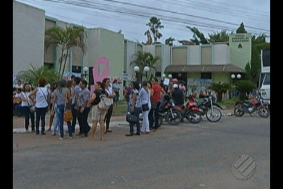Professores da rede pública de Paragominas entraram em greve