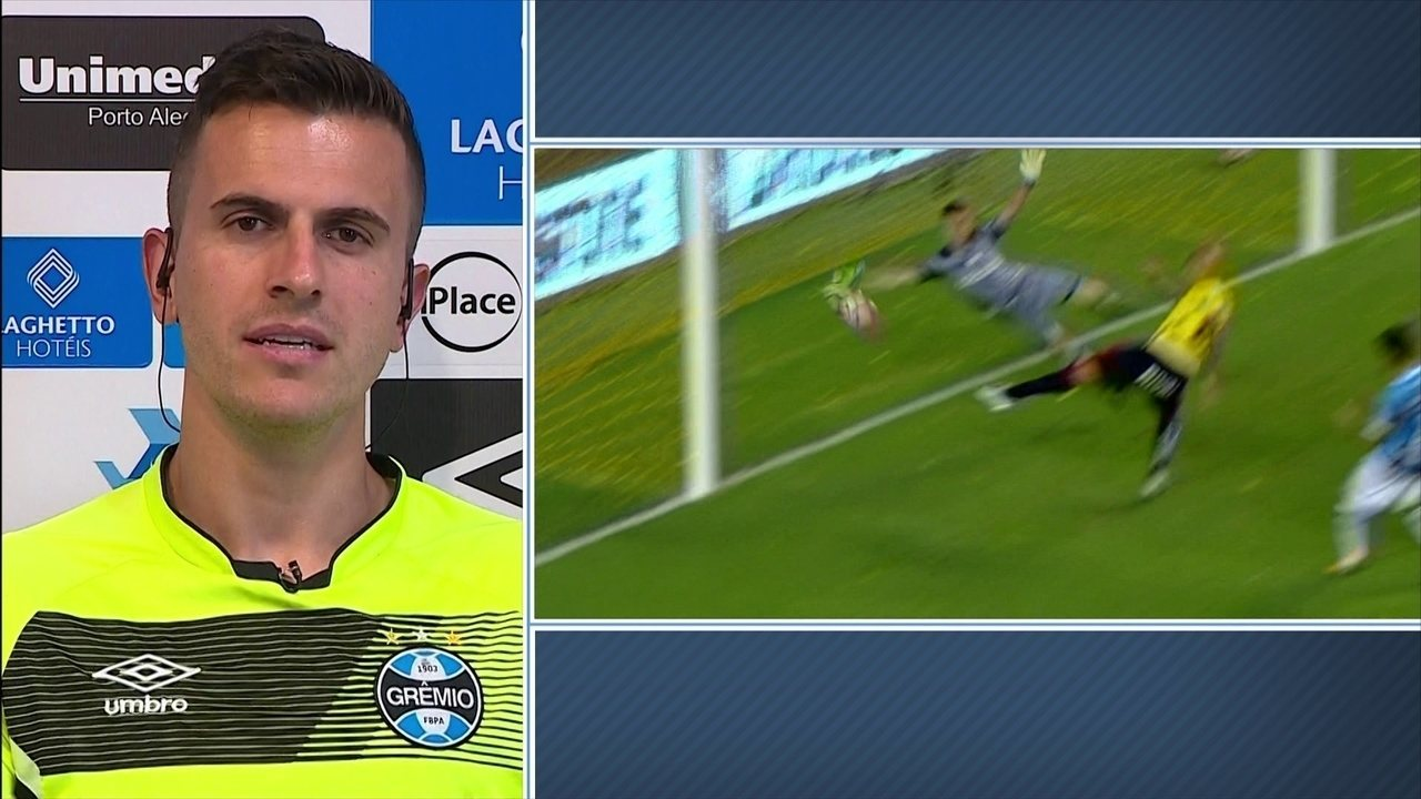 d895e4a541 Marcelo Grohe comenta defesa espetacular diante do Barcelona-EQU