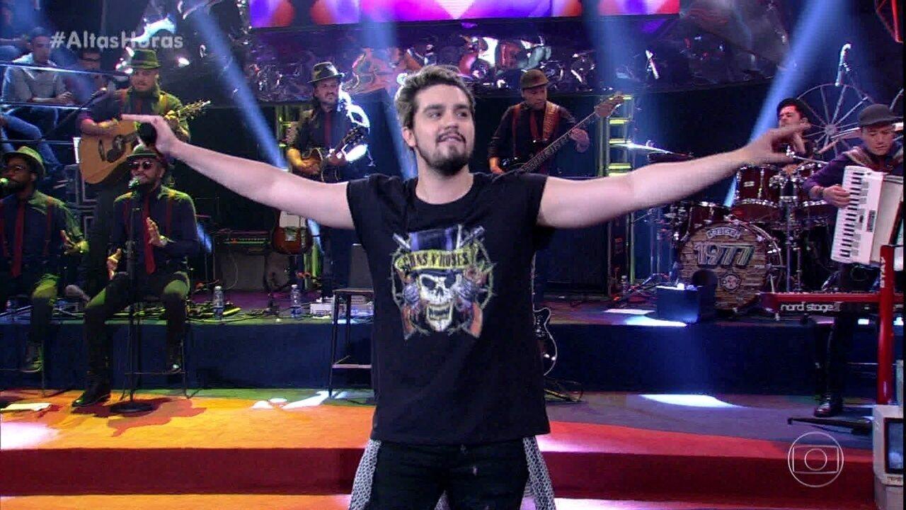 Luan Santana canta 'Estaca Zero'