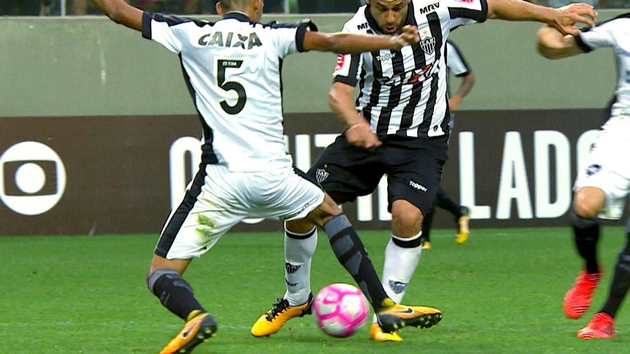 98b20370df85b Melhores momentos de Atlético-MG 0 x 0 Botafogo pela 31ª rodada do  Brasileirão 2017