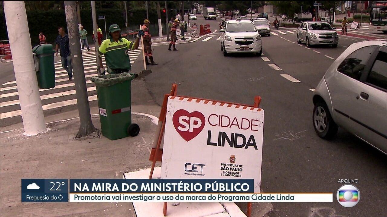 MP abre investigação para apurar uso da marca do Programa Cidade Linda pelo prefeito