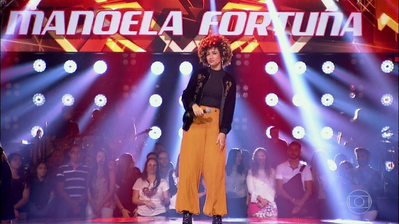 Manoela Fortuna cantou 'Seven Nation Army'