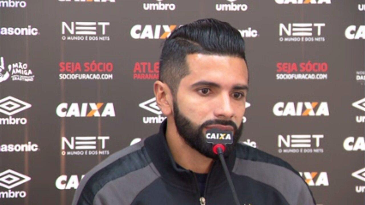 Guilherme mantém sonho da Libertadores:
