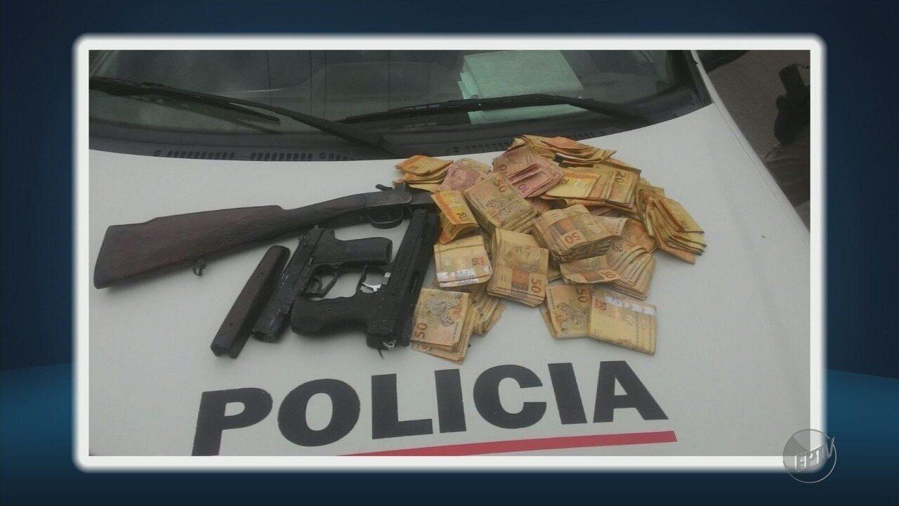 Dois suspeitos de assalto a banco são localizados pela Polícia Militar em Alterosa (MG)