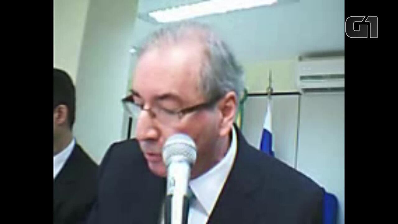 Eduardo Cunha diz à Justiça que delator Lúcio Funaro atribui 'tudo' a ele