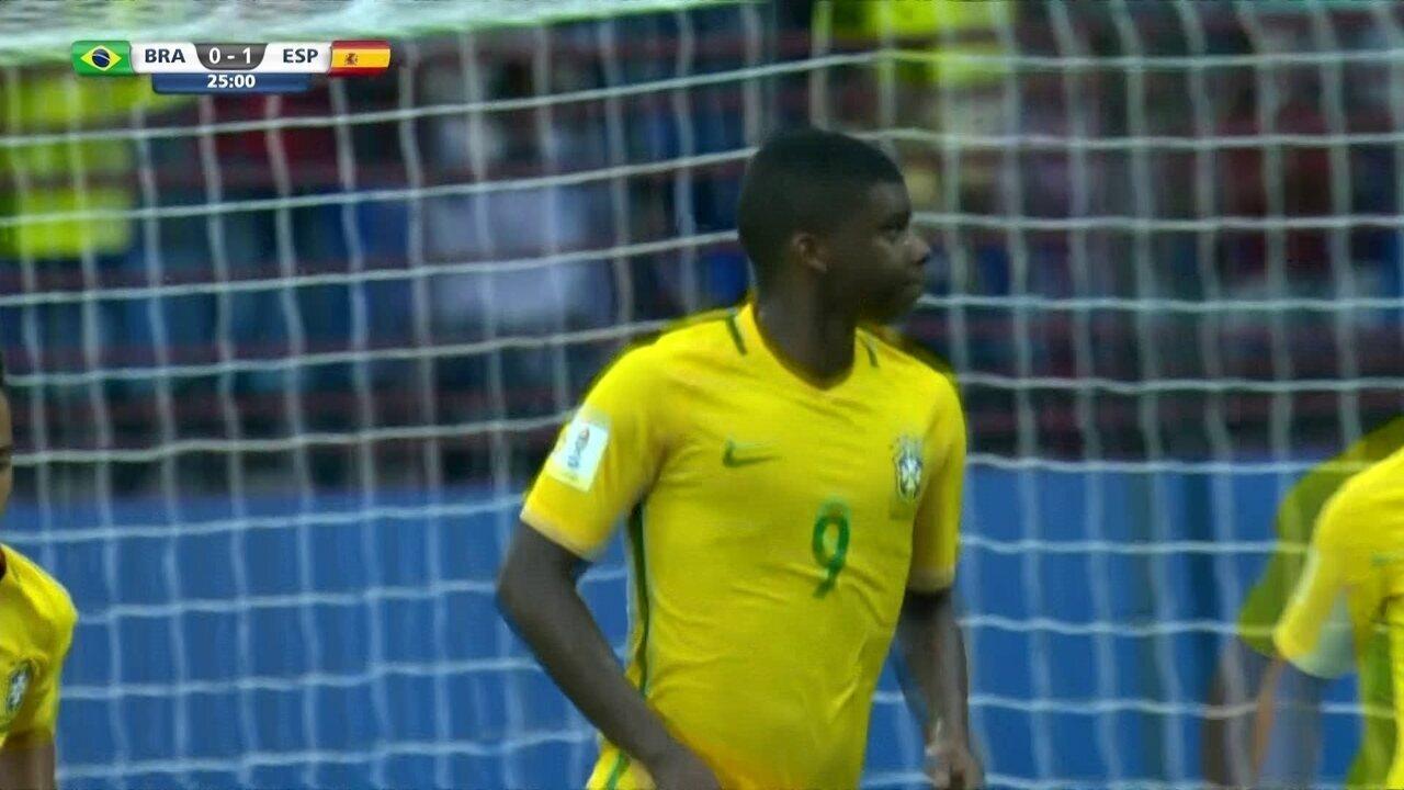 Confira os gols de Lincoln no Mundial Sub-17