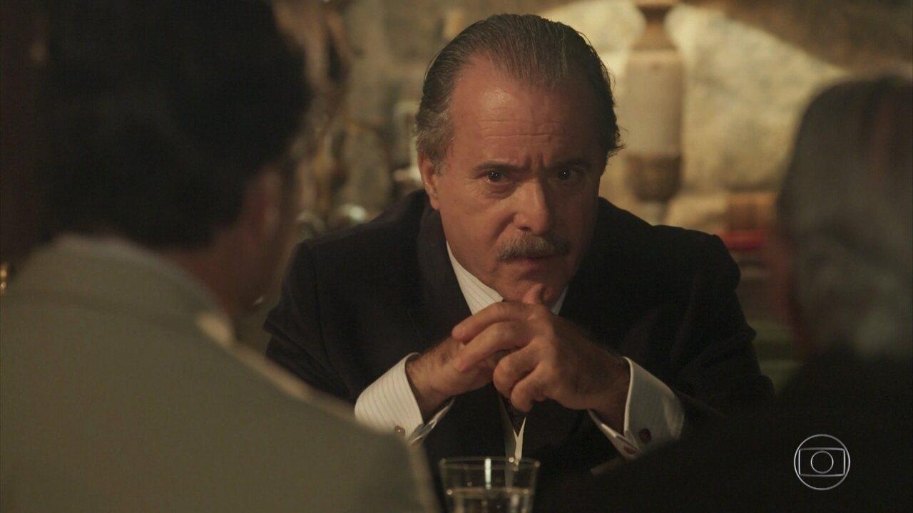 José Augusto propõe uma negociação a Martim