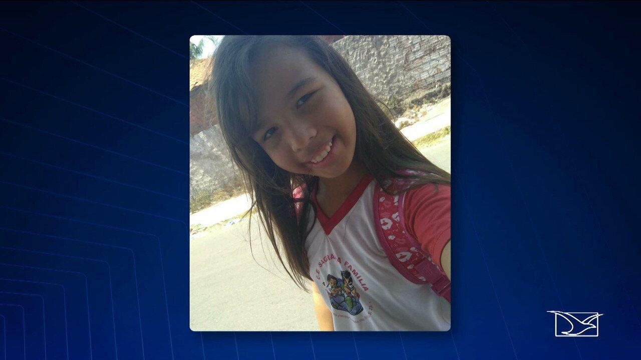 Polícia descarta envolvimento de mãe no assassinato de Allana, de 10 anos.