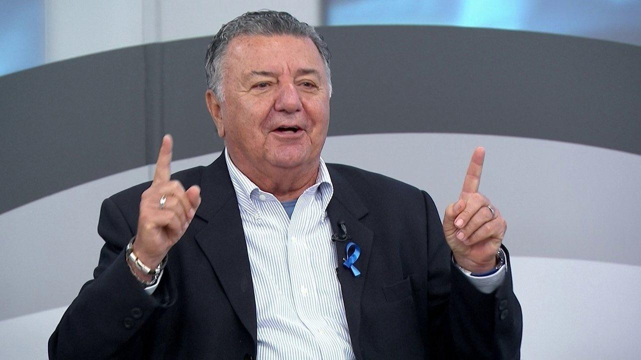 Lance do impedimento de Romero é dificílimo para a arbitragem, diz Arnaldo
