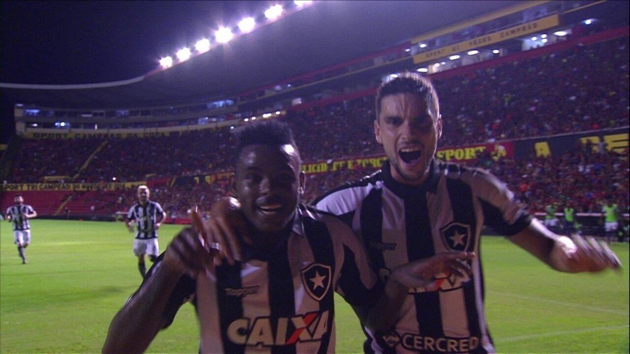 Os cinco gols de Marcos Vinícius pelo Botafogo