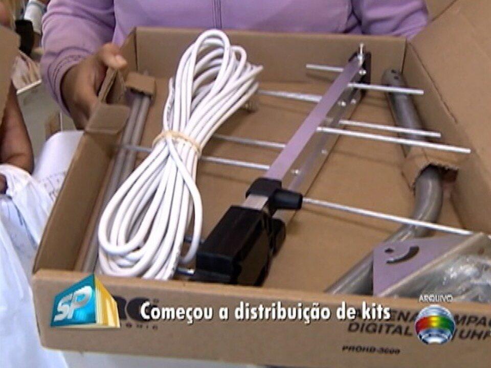 Começa a distribuição de kits digitais na região de Presidente Prudente