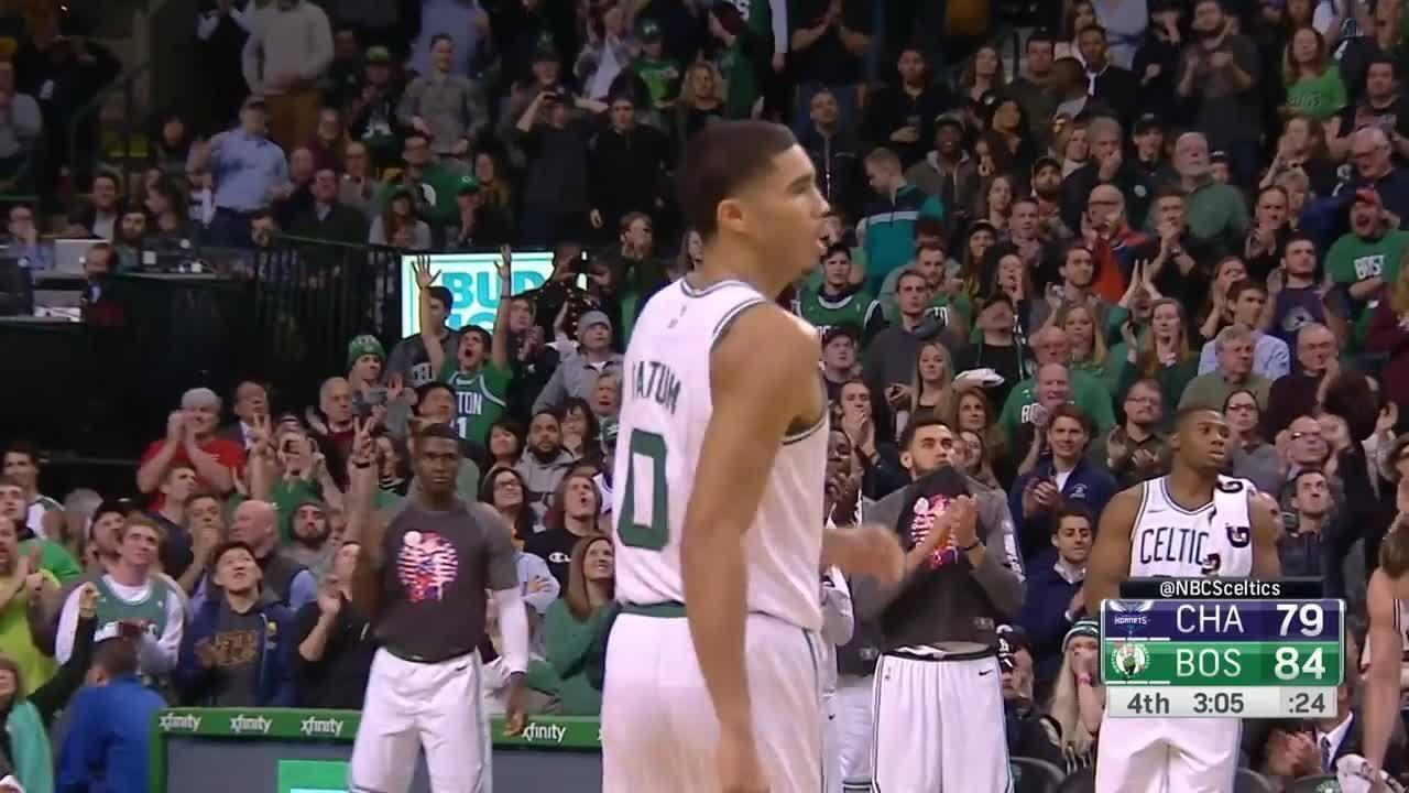 Melhores momentos: Charlotte Hornets 87 x 90 Boston Celtics pela NBA