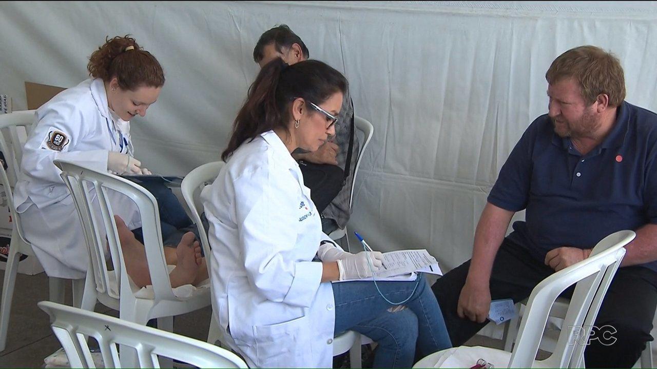Campanha contra diabetes oferece serviços em Curitiba