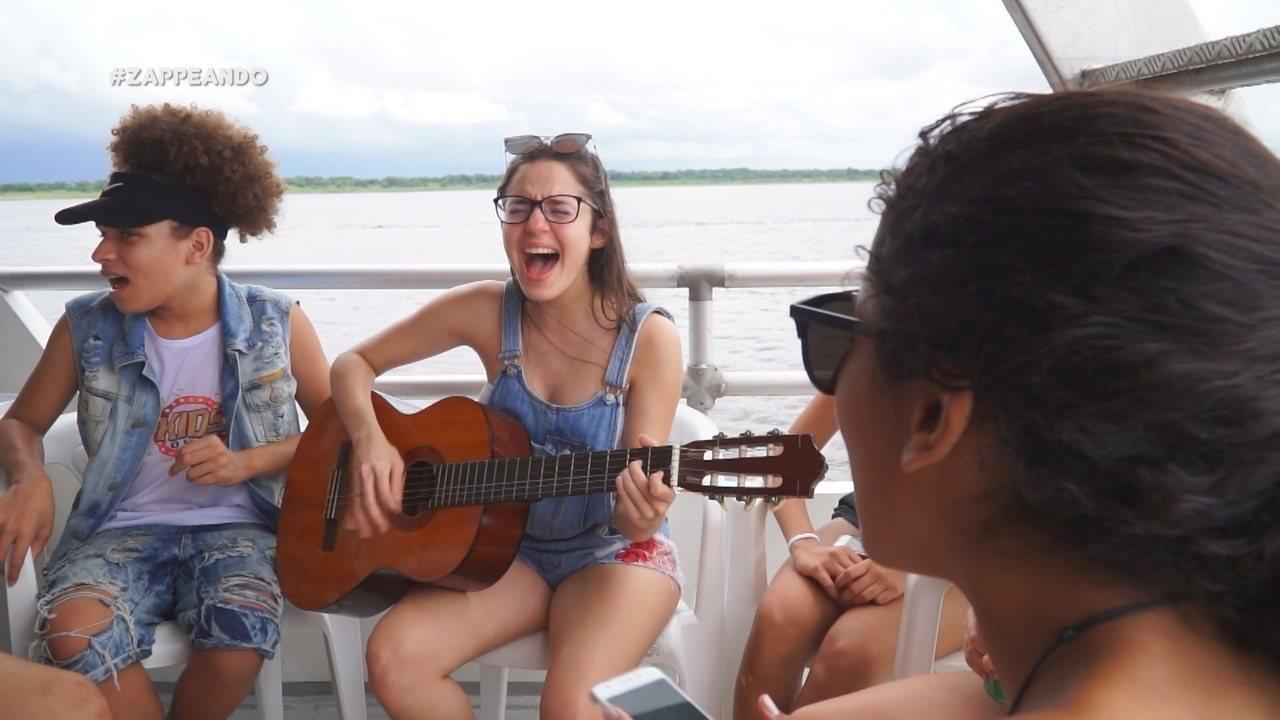 Parte 1: Isa Lima e Moacyr Massulo iniciam passeio com a turma do The Voice