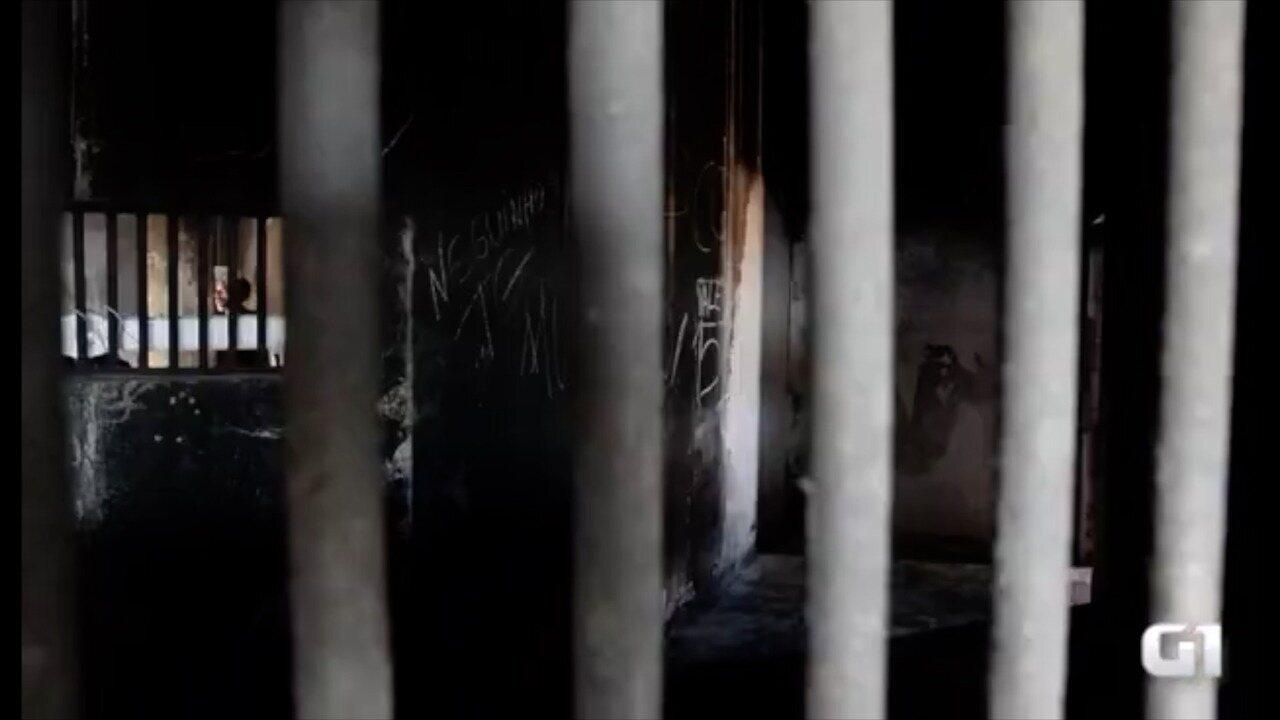 Em março, o G1 esteve em Alcaçuz e entrou no Pavilhão 4 de Alcaçuz, palco do massacre