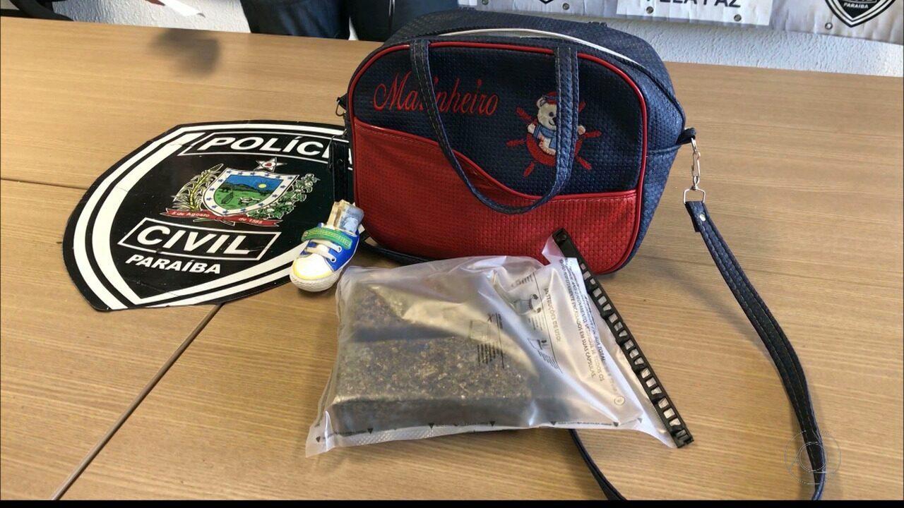 Mãe é detida com droga na bolsa do filho de apenas dois meses
