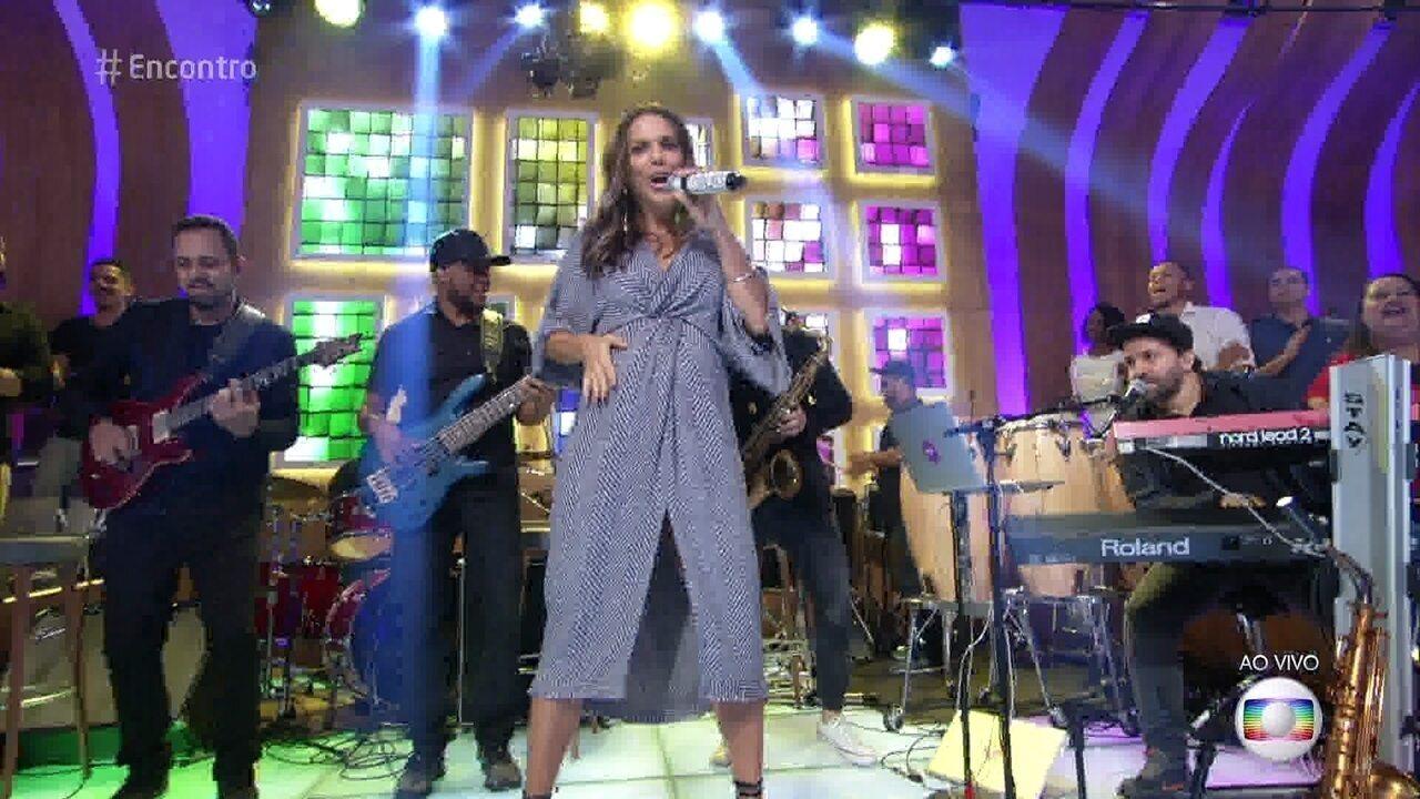 Ivete Sangalo canta 'O Farol'