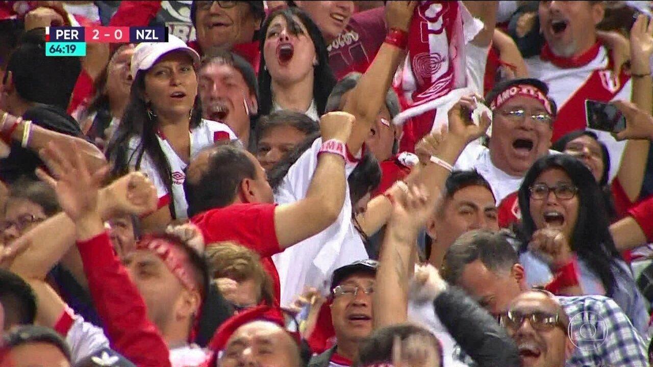 Peru vence a Nova Zelândia e se junta com as 32 seleções para a Copa do Mundo de 2018
