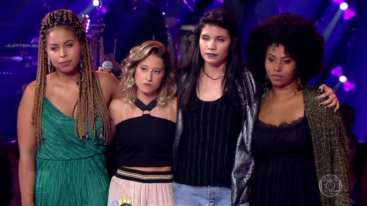 Ivete Sangalo escolhe 2 vozes em última noite de Tira-Teima
