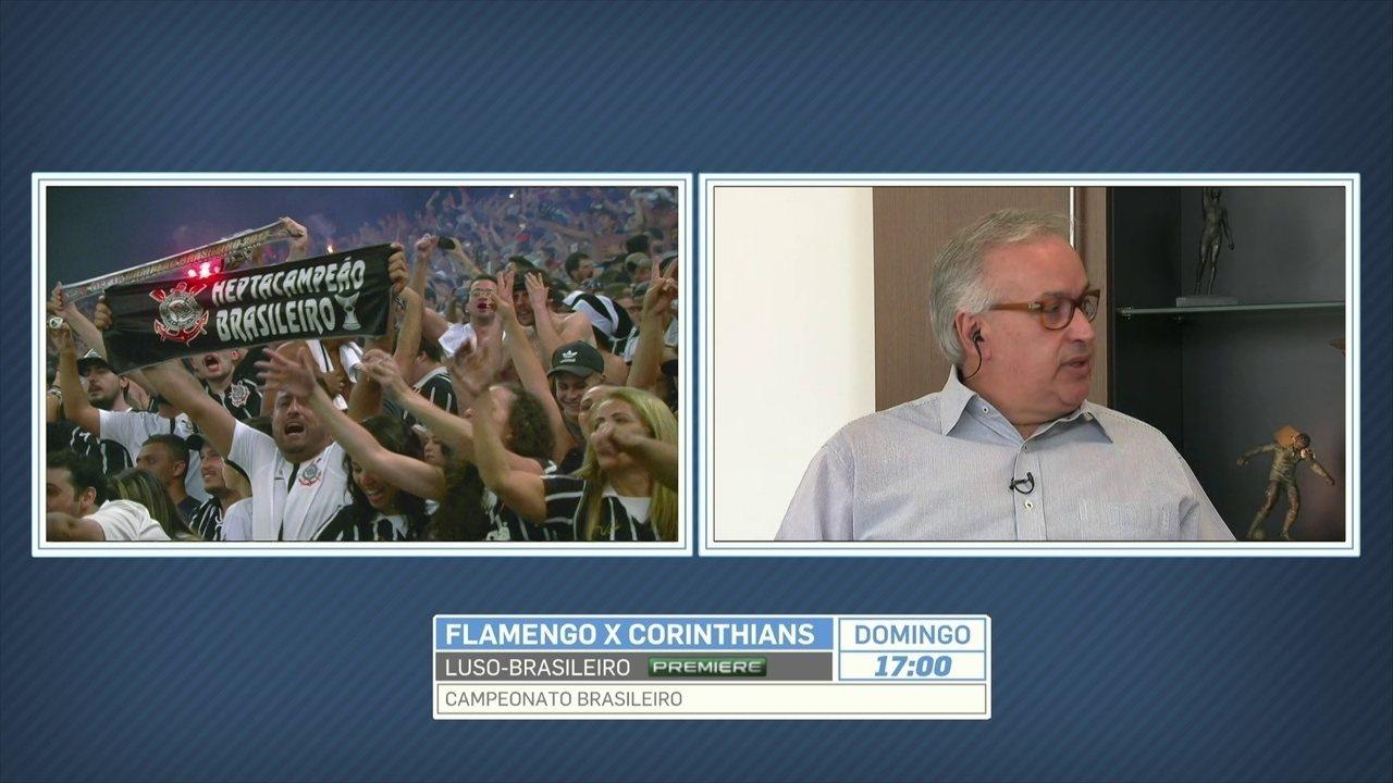 Presidente do Corinthians diz que não há como diminuir preço dos ingressos da Arena