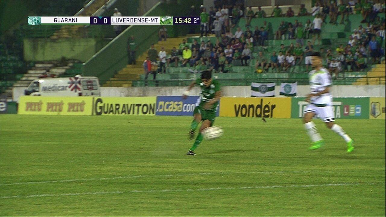 Melhores momentos: Guarani 0 x 0 Luverdense pela 37ª rodada da Série B do Brasileiro