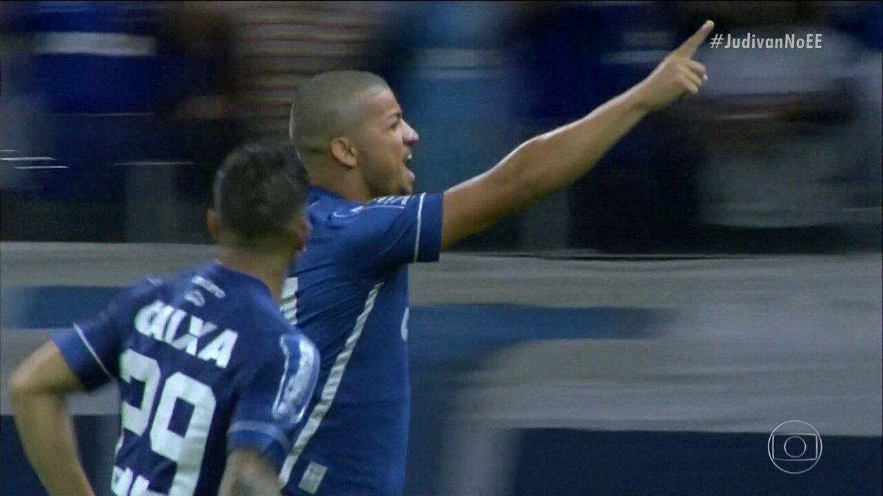 Após dois anos e meio fora, Judivan lembra retorno aos gramados com gol pelo Cruzeiro