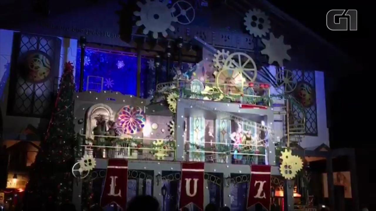 Show do Acendimento das Luzes acontece todos os dias no Natal Luz de Gramado