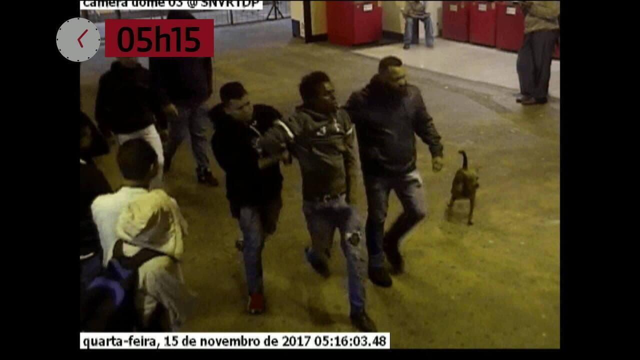 Vídeo mostra agressões sofridas por jovem negro perto de terminal de ônibus em SP