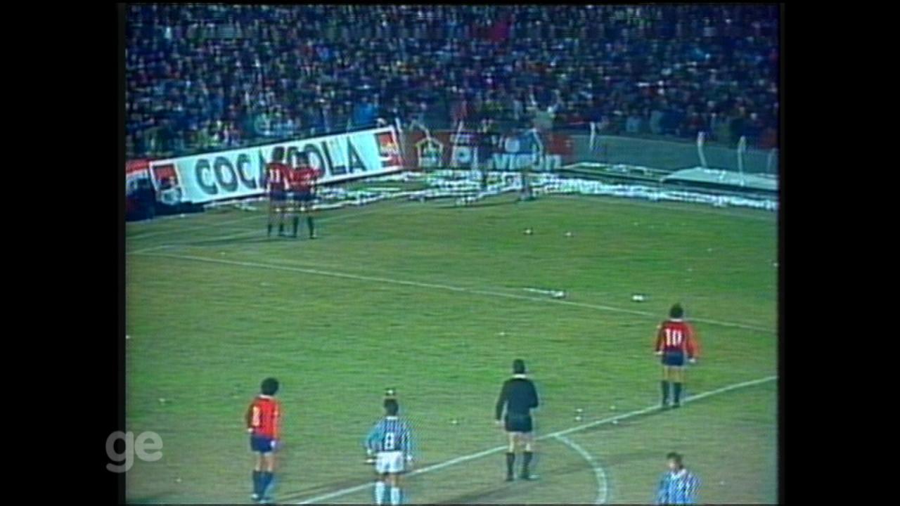 Grêmio empata com o Independiente e fica com o vice da Libertadores de 1984