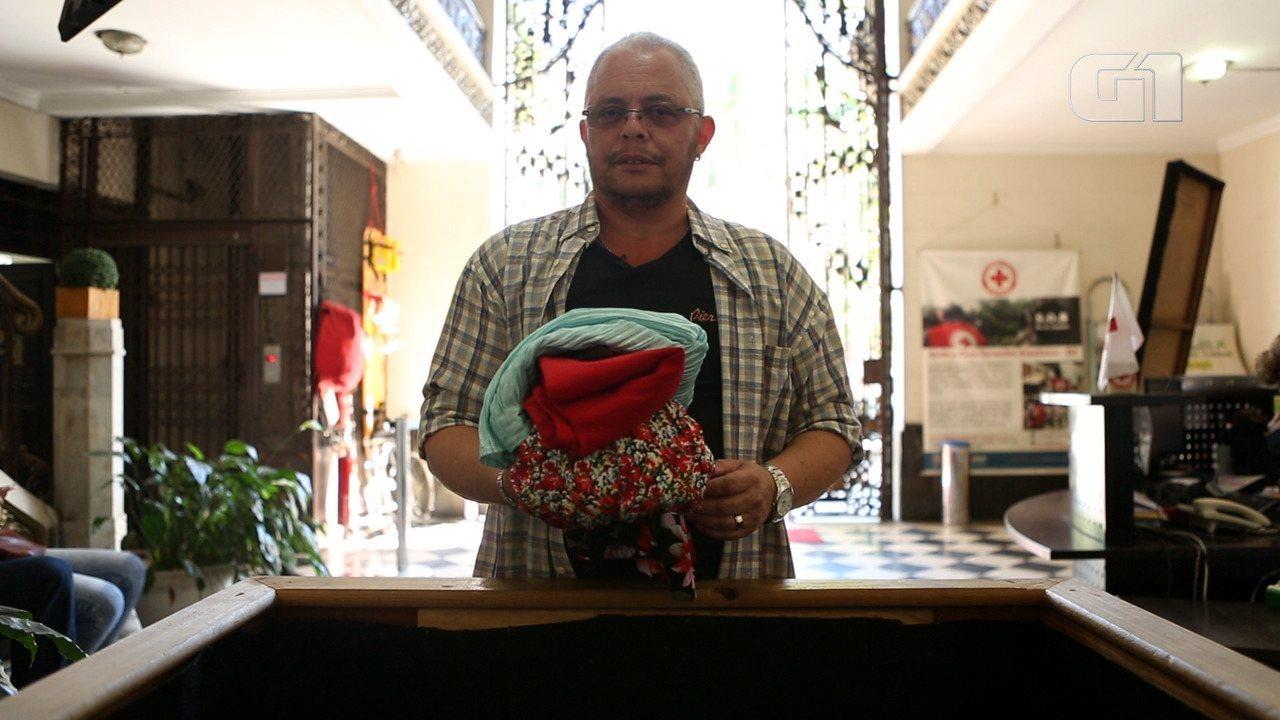 Cruz Vermelha promove campanha de doação de roupas entre transgêneros