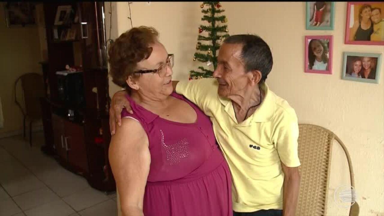 Idoso que morava em Belém e não via família há 50 anos passará o Natal em casa, no Piauí