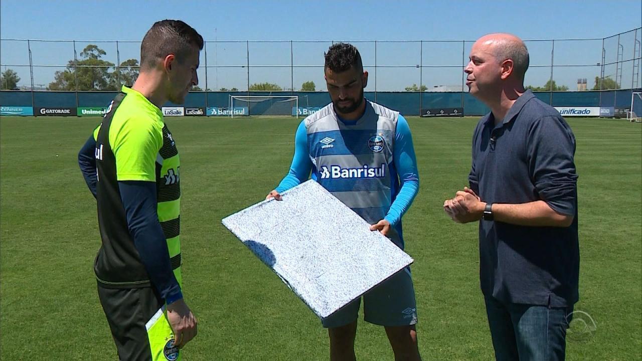 Marcelo Grohe ganha 'obra-prima' por defesa contra o Barcelona-EQU