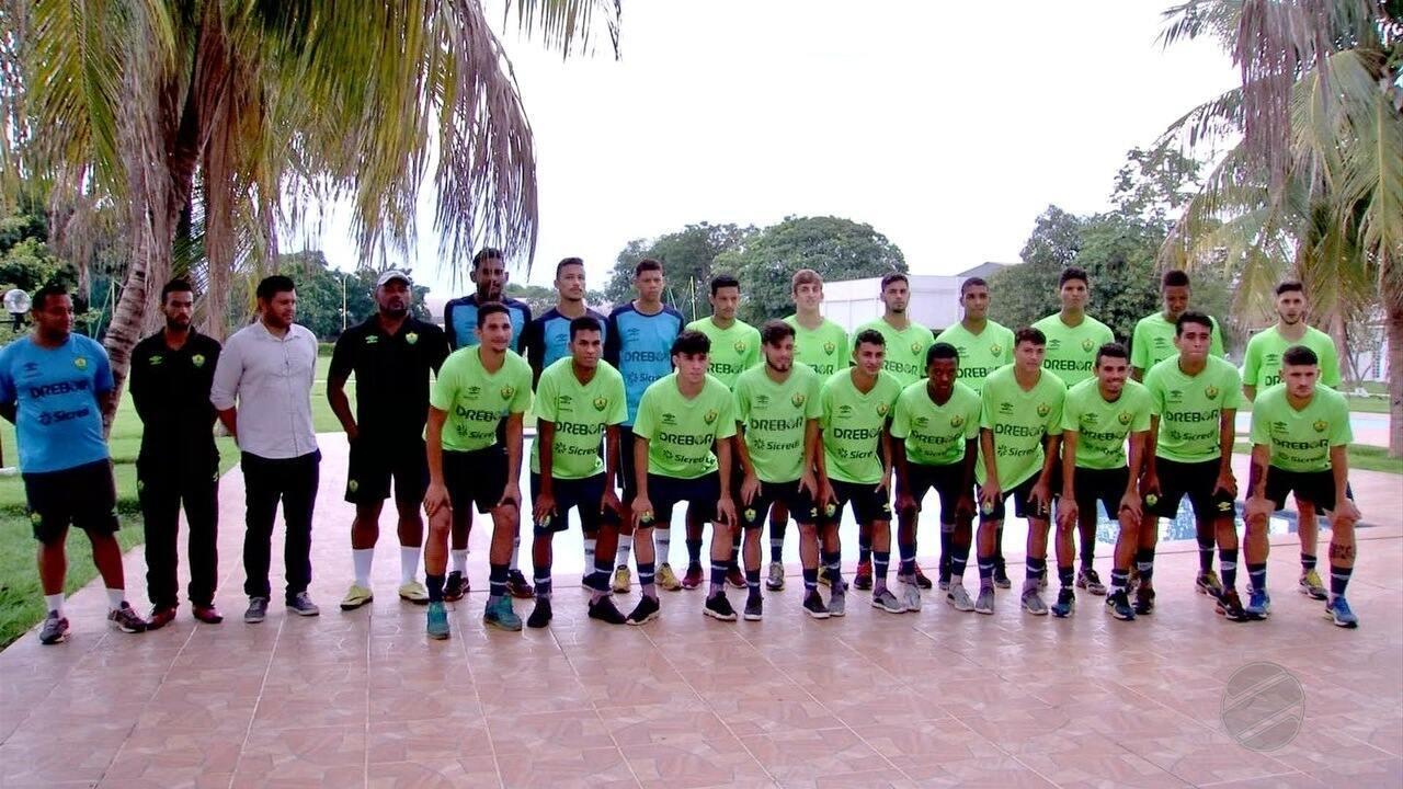 Seleção de MT é apresentada para a disputa da Copa de Seleções Estaduais Sub-20